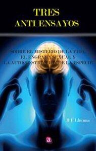 Tres anti ensayos | Ediciones Albores